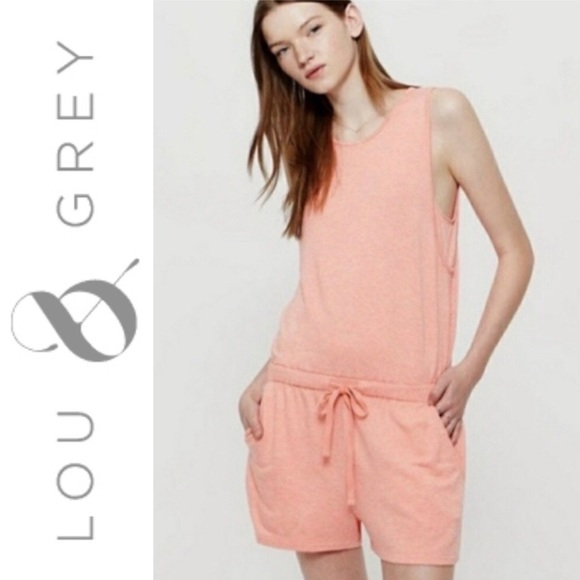 Lou & Grey Pants - Lou & Grey Signaturesoft Sleeveless Romper Large